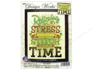"yarn & needlework: Design Works Cross Stitch Kit 9""x 12"" One Stitch"