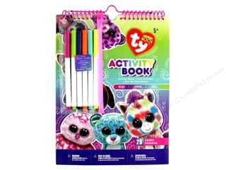 books & patterns: Darice Beanie Boo Activity Book