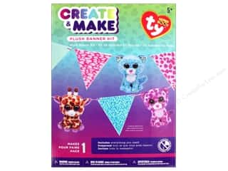 craft & hobbies: Darice Beanie Boo Plush Banner Kit