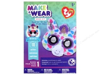 scrapbooking & paper crafts: Darice Beanie Boo Mask Kit - Wishful the Unicorn