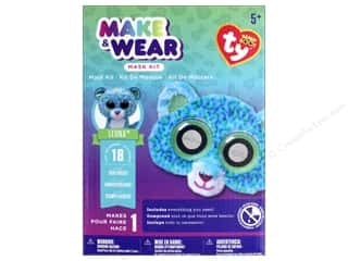 scrapbooking & paper crafts: Darice Beanie Boo Mask Kit - Leona the Leopard