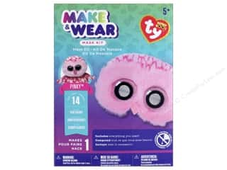 craft & hobbies: Darice Beanie Boo Mask Kit - Pinky the Owl