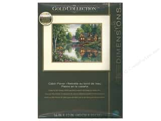 "Dimensions Cross Stitch Kit 16""x 12"" Cabin Fever"