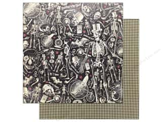 """Graphic 45 Collection Master Detective Paper 12""""x 12"""" Dastardly Deeds"""