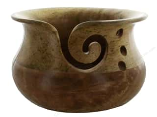 yarn: Susan Bates Wood Yarn Bowl
