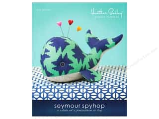 Heather Bailey Seymour Spyhop Pincushion Whale Pattern