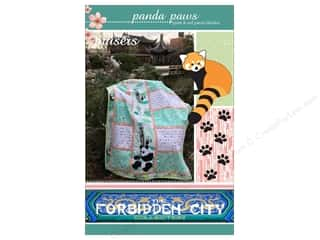 Clearance: Mckay Manor Musers Panda Paws Block Blanket Pattern