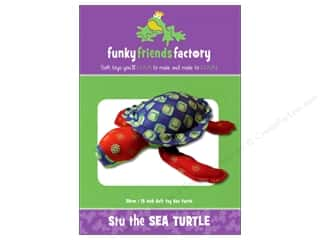 Funky Friends Factory Stu The Sea Turtle Pattern