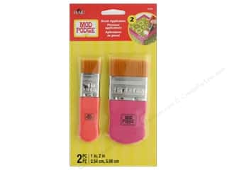 "Plaid Mod Podge Tools Brush Set 1"" & 2"" 2pc"