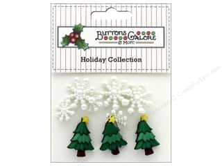 Buttons Galore Theme Button Holiday Christmas Sparkle
