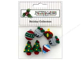 Clearance: Buttons Galore Theme Button Holiday Jingle Bells