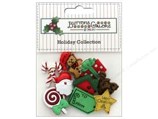 novelties: Buttons Galore Theme Button Holiday North Pole