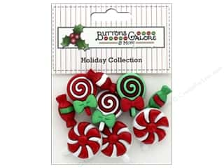 Buttons: Buttons Galore Theme Button Holiday Christmas Candy