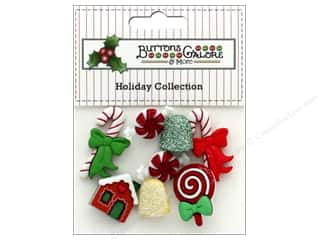 candle color: Buttons Galore Theme Button Holiday Sweet