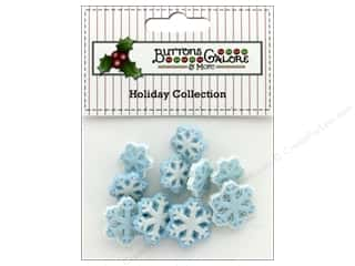 novelties: Buttons Galore Theme Button Holiday Arctic Blast