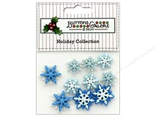 novelties: Buttons Galore Theme Button Holiday Brrr!