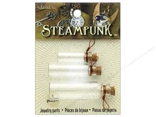 Solid Oak Charm Steampunk Laboratory Bottles