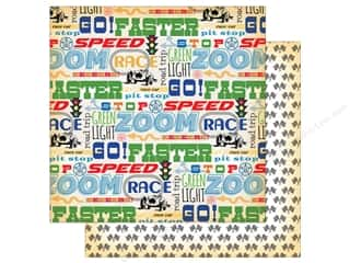 "Carta Bella Collection Cartopia Paper 12""x 12"" Go Faster (25 pieces)"