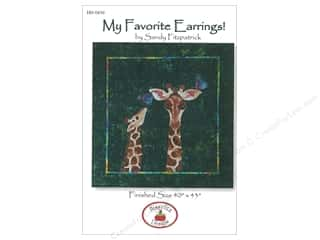 Clearance: Hissyfitz Designs My Favorite Earrings Pattern