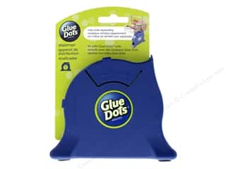 glues, adhesives & tapes: Glue Dots Desktop Dispenser Empty Navy