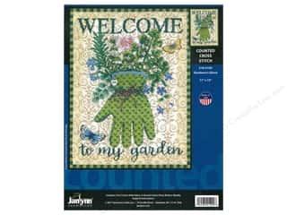 "yarn: Janlynn Cross Stitch Kit 11""x 15"" Gardener's Glove"