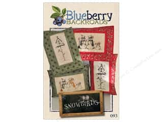 books & patterns: Blueberry Backroads Snowbirds Pattern