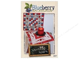 books & patterns: Blueberry Backroads Shooting Stars Pattern