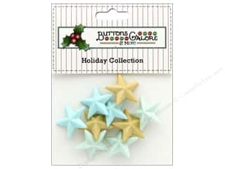 Clearance: Buttons Galore Theme Button Holiday All Is Bright