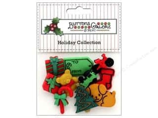 Clearance: Buttons Galore Theme Button Holiday Under The Tree