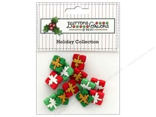 Clearance: Buttons Galore Theme Button Holiday Tiny Presents