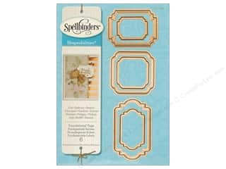 Spellbinders Die Shapeabilites Foundational Tags