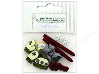 sewing & quilting: Buttons Galore Theme Button Ski Trip