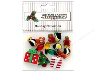 Button: Buttons Galore Theme Button Holiday Bliss