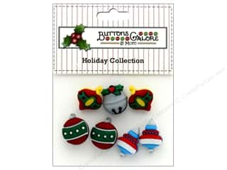 novelties: Buttons Galore Theme Button Holiday Tree Trimmers