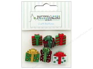 novelties: Buttons Galore Theme Button Christmas Joy