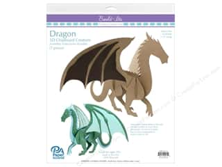 """Paper Accents Build Its Dragon 11"""" Tall"""