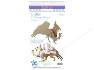 "projects & kits: Paper Accents Build Its Griffin 10"" Tall"
