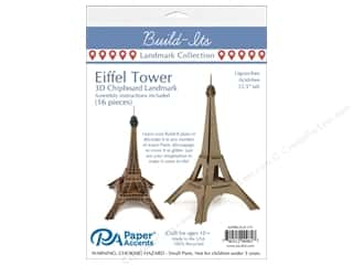 "projects & kits: Paper Accents Build Its Eiffel Tower 12"" Tall"