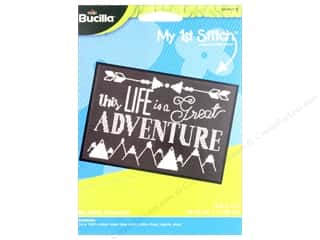 Clearance: Bucilla Cross Stitch Kit My 1st Stitch My Great Adventure