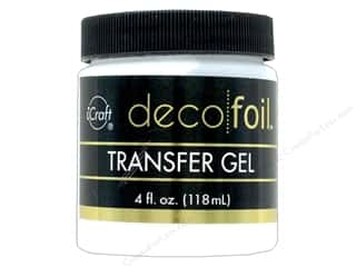 foil: iCraft Deco Foil Transfer Gel 4oz