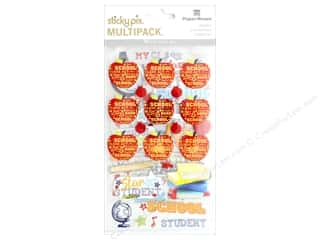 scrapbooking & paper crafts: Paper House Sticker Multi Pack School