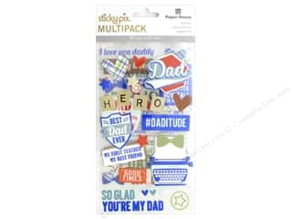 stickers: Paper House Sticker Multi Pack Dad