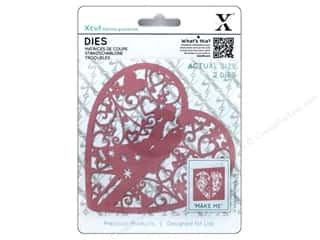 die cutting machines: Docrafts Xcut Die Couple In Heart 2pc