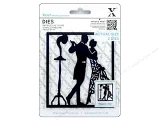 die cutting machines: Docrafts Xcut Die 1920's Dancers 2pc