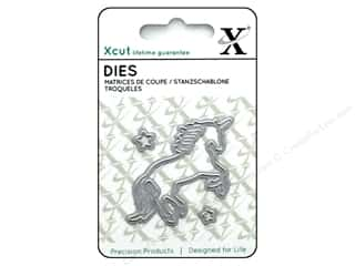 dies: Docrafts Xcut Die Mini Unicorn 3pc