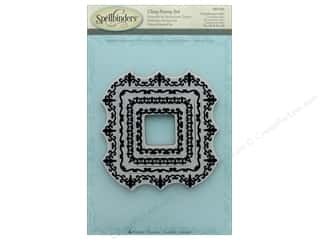 scrapbooking & paper crafts: Spellbinders Stamp Square Magnificence