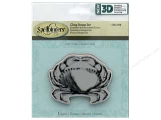 stamps: Spellbinders Stamp 3D Shading Crab