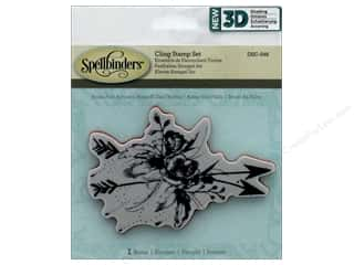 stamps: Spellbinders Stamp 3D Shading Roses & Arrows