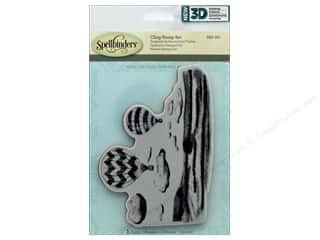 stamps: Spellbinders Stamp 3D Shading Hot Air