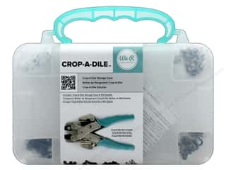 We R Memory Keepers Crop-A-Dile Storage Case - Teal